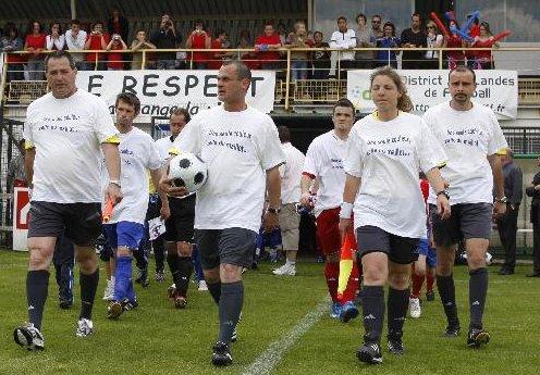 Action sport coupe des landes de football 2008 pour un sport citoyen contre le racisme et - Coupe des landes football ...